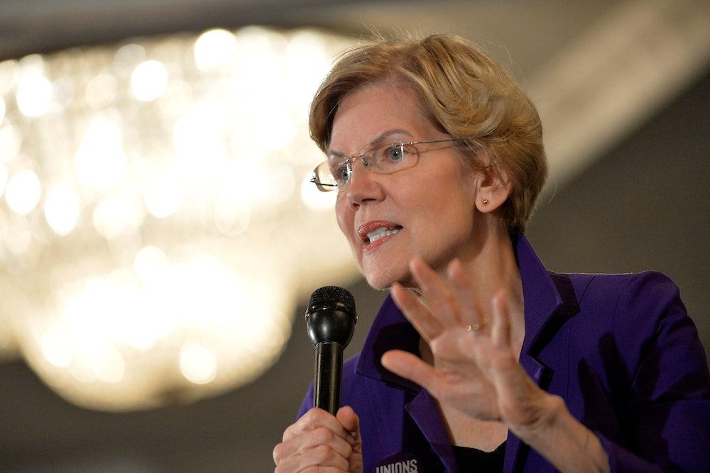 Elizabeth Warren Retreats From Medicare for All