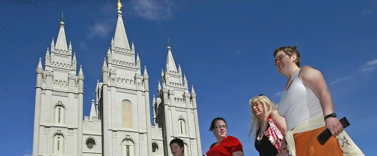 Mormon bishops tugging