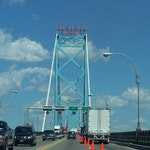 Ambassador Bridge, Detroit--Flickr.com image