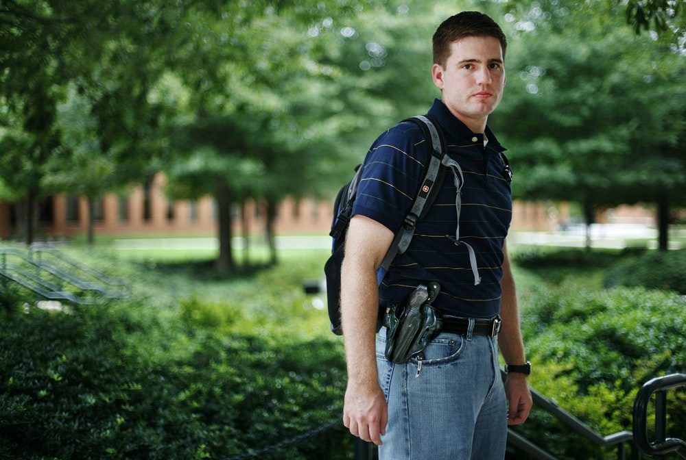 The Growing Crisis of Guns on Campus