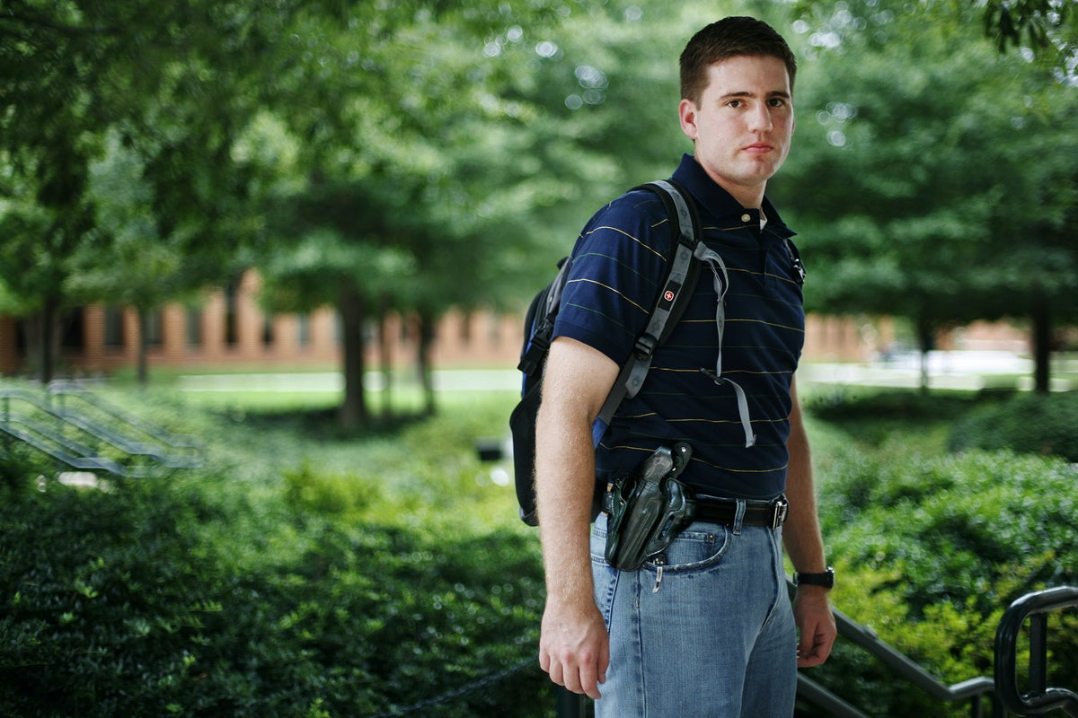 The Growing Crisis of Guns on Campus | The New Republic