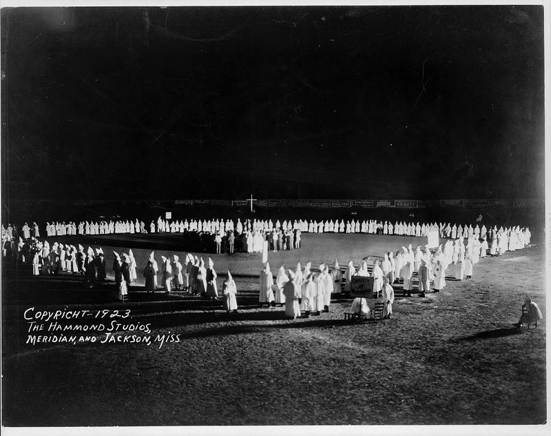 how the klan got its hood new republic a ku klux klan initiation in mississippi 1923 the library of congress