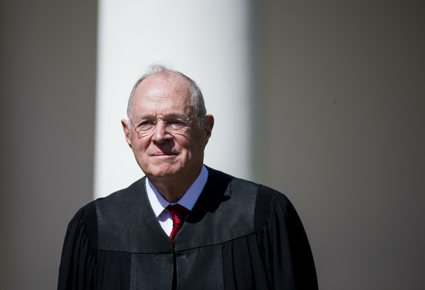 newrepublic.com - Trump's relationship with Justice Kennedy sounds shady in this new report.