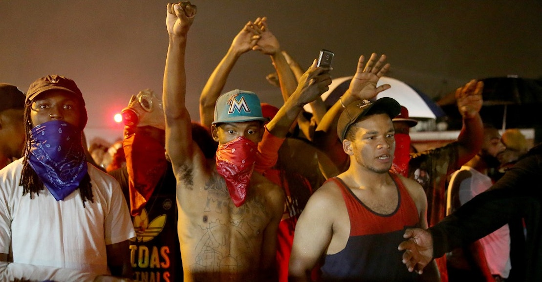 the shooting of michael brown essay