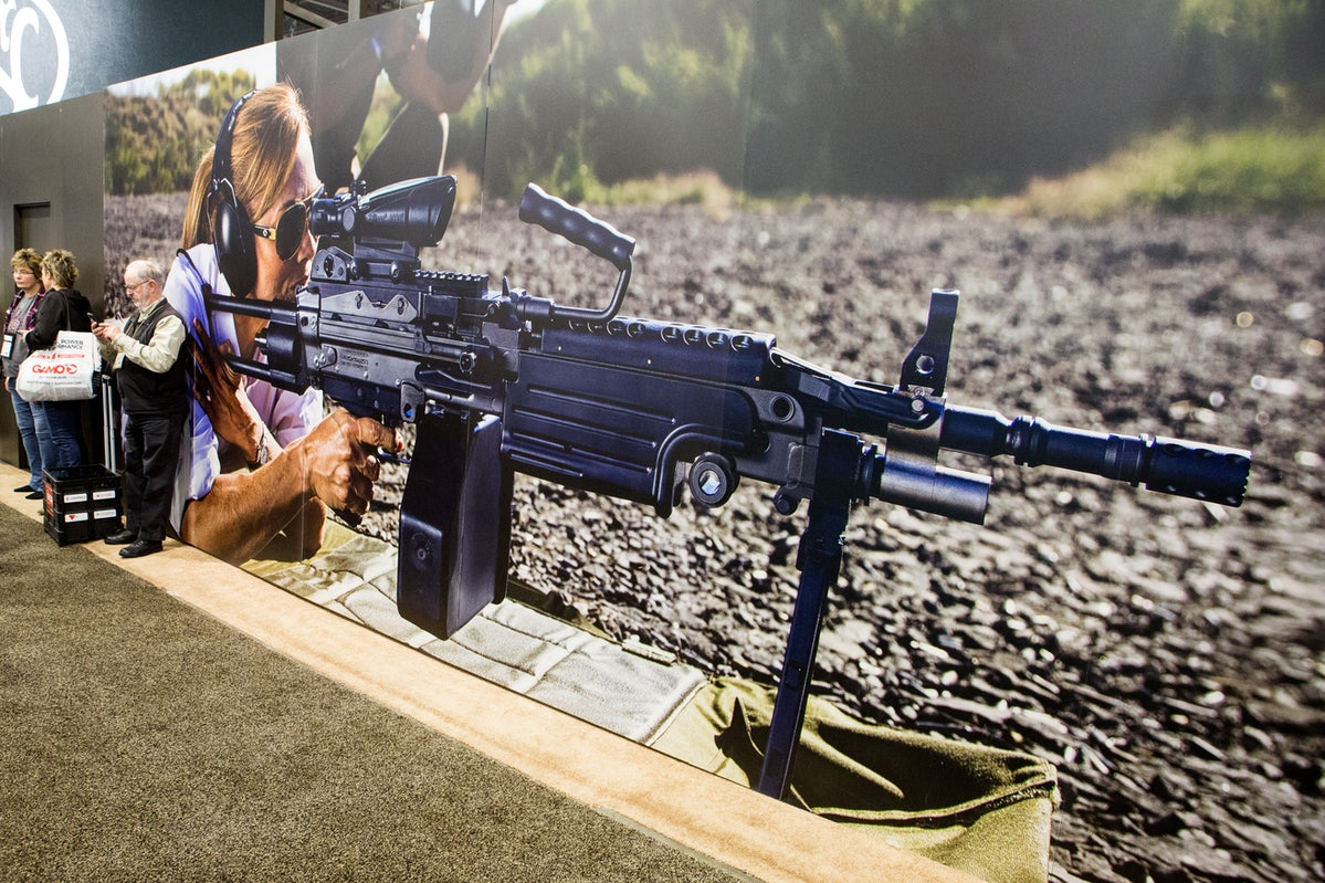 54ce4525be9 The displays at the SHOT show in Las Vegas