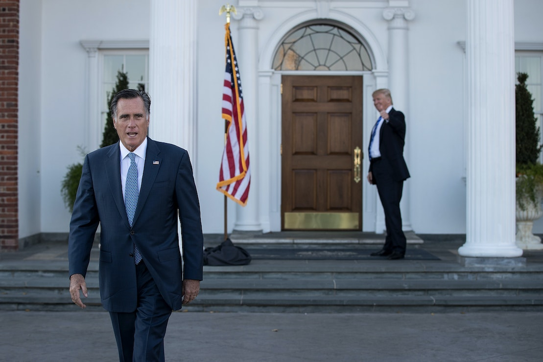 Mitt Romney Is the New Jeff Flake