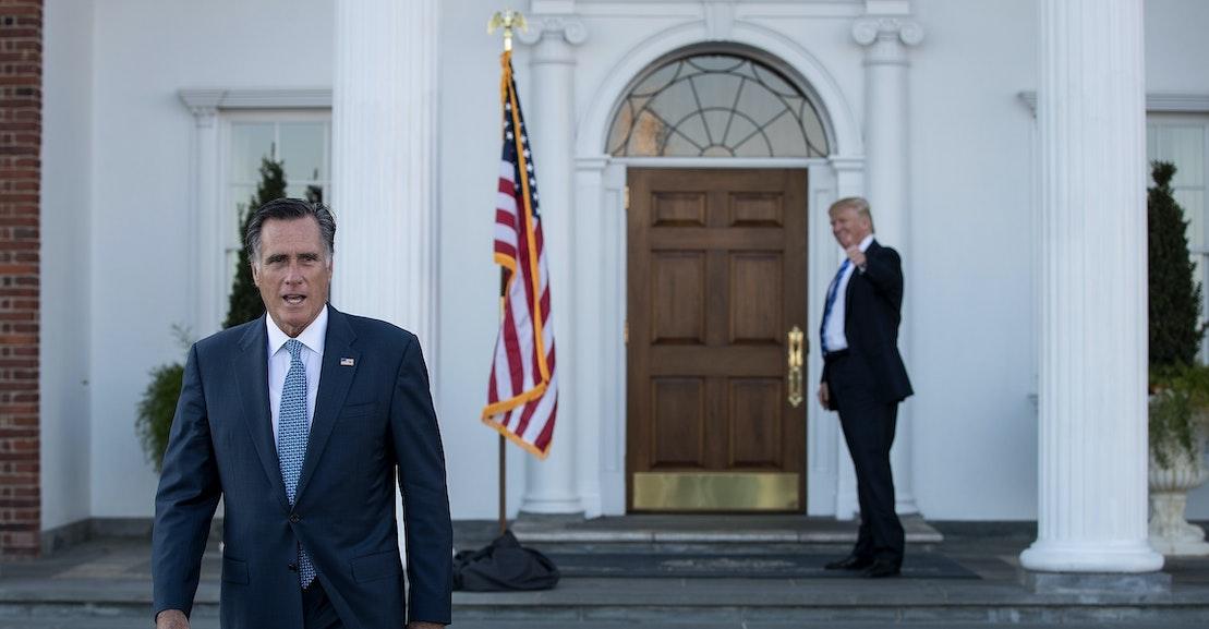 Mitt Romney Is the New Jeff Flake