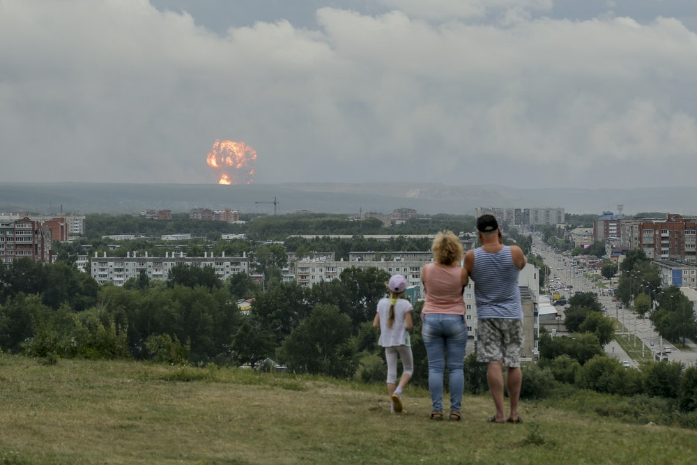 The Absurd Strategy Behind Russia's Nuclear Explosion