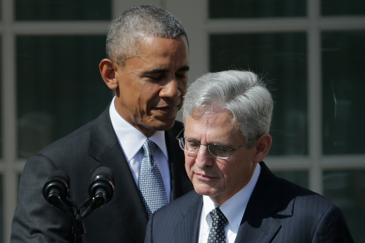 83cd070c Obama Can and Should Put Merrick Garland on the Supreme Court | The ...
