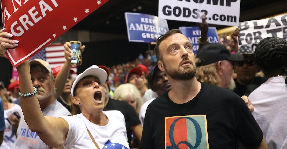 The Forgotten Christian Terror Cult That Presaged Trump's Memes