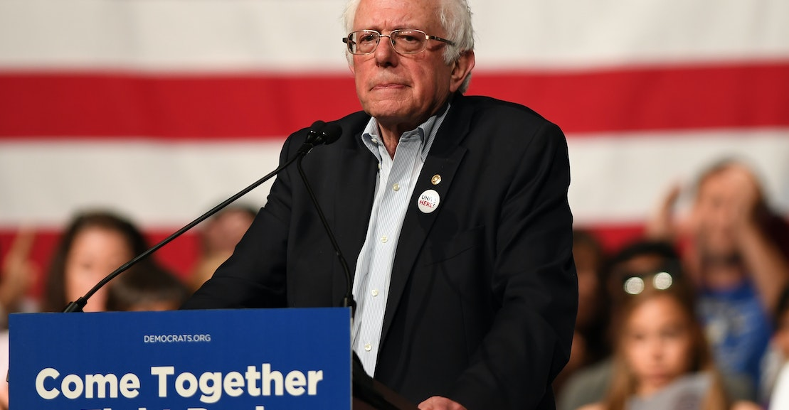 photo image Why Bernie Sanders's Unity Tour Failed
