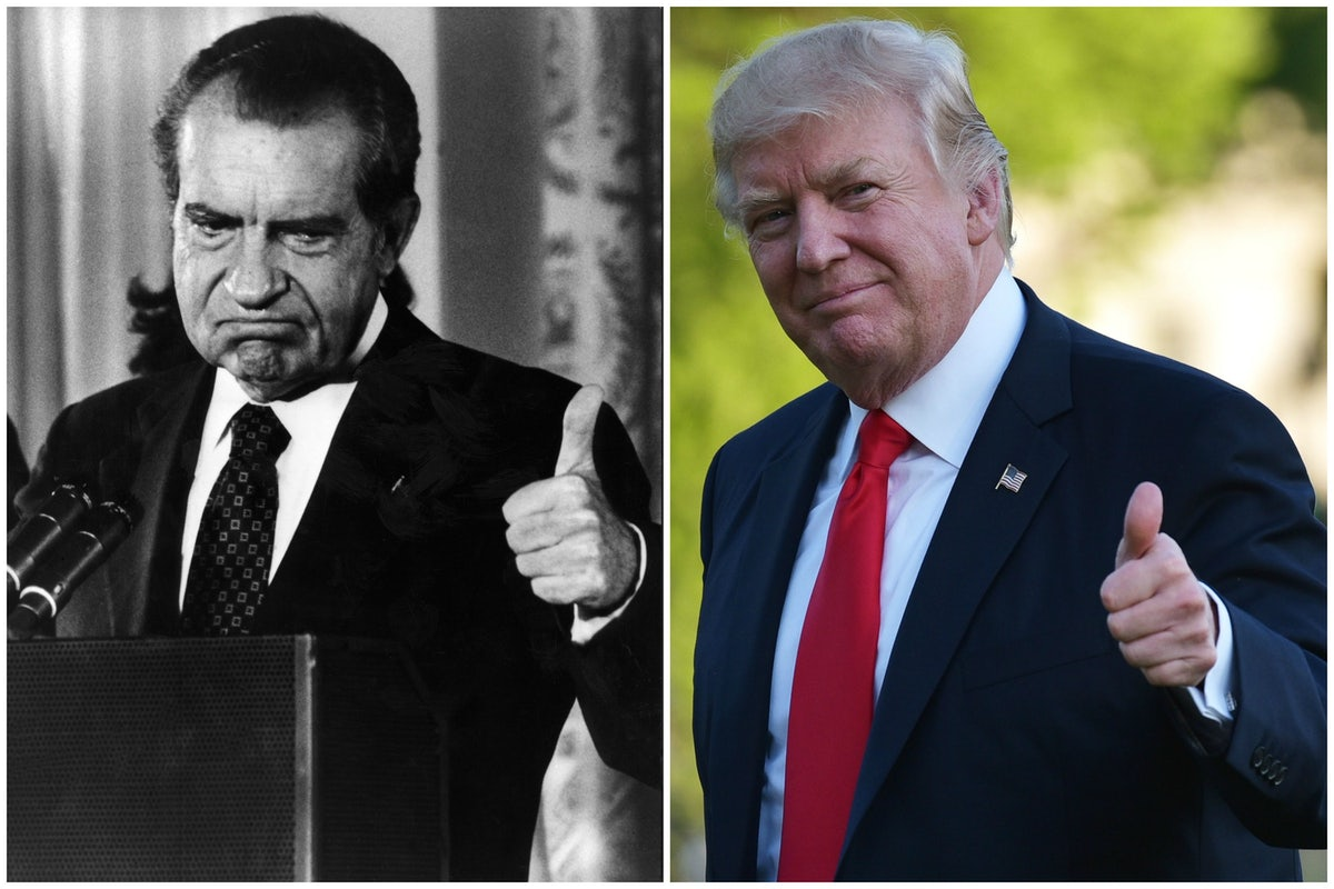 Image result for nixon trump