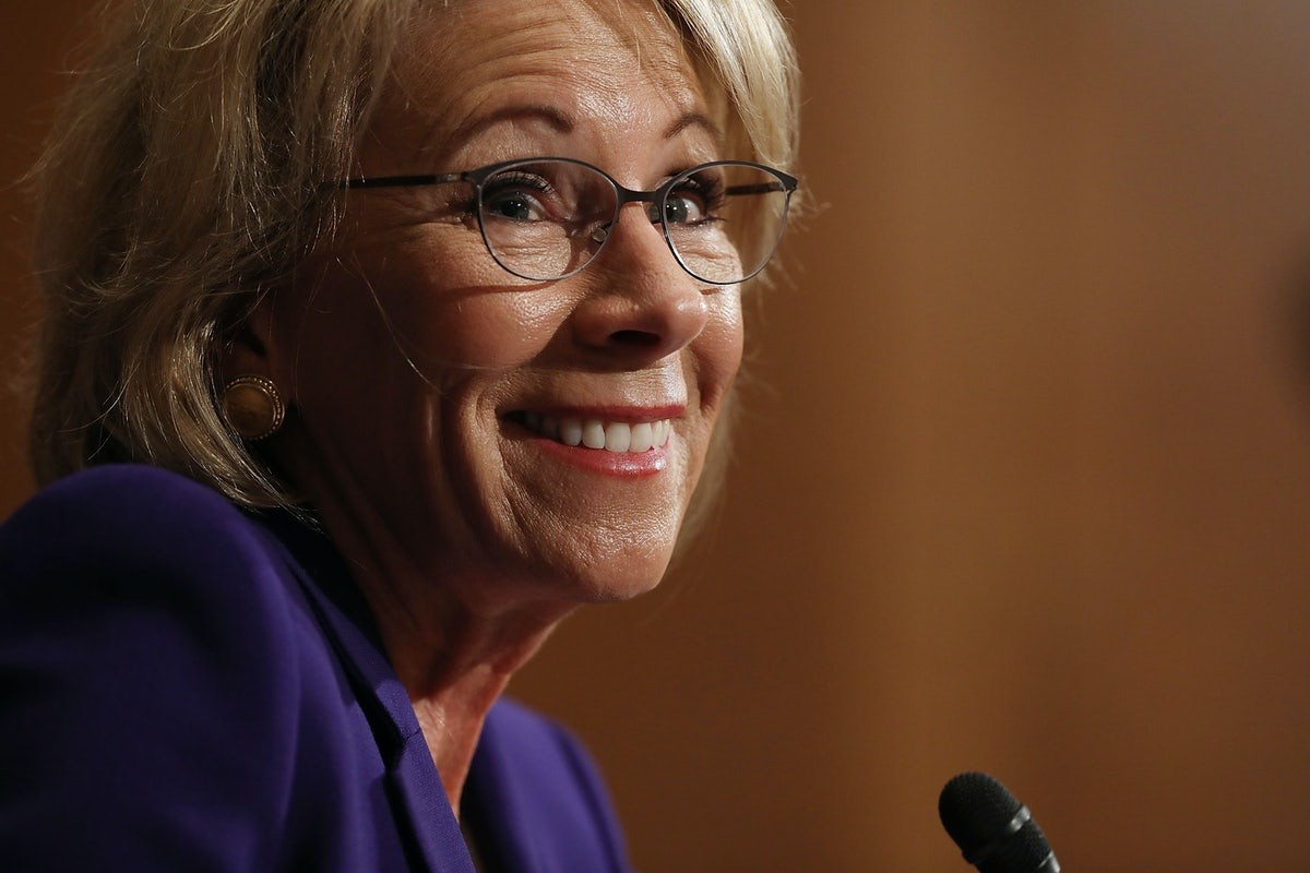If Confirmed Betsy Devos Will Be >> If Confirmed Betsy Devos Will Be A Disaster For Students With
