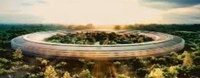 "Apple Unveils New ""Spaceship"" Corporate Headquarters Design"