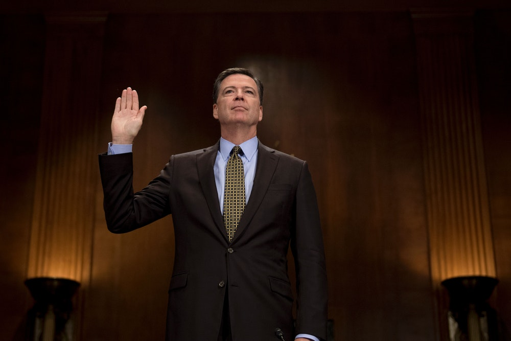 We Need to Hear from James Comey, ASAP