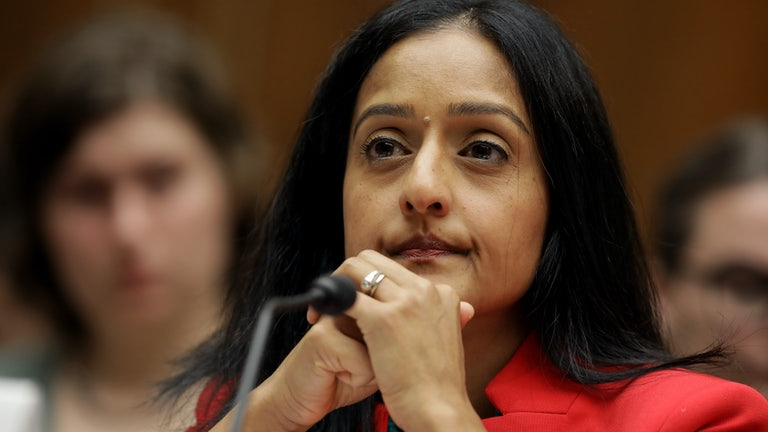 Vanita Gupta at a congressional hearing in 2020