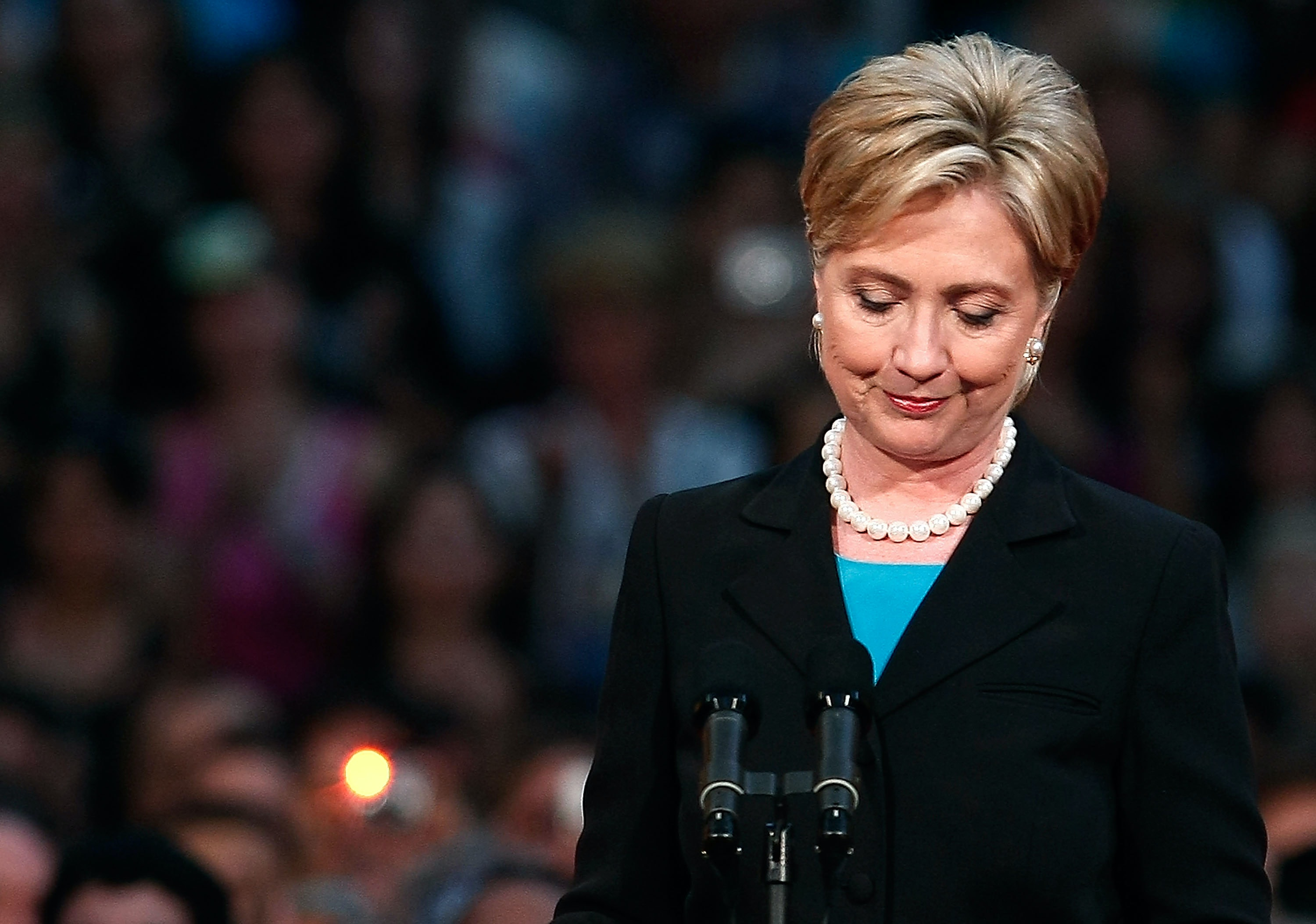 Regret, Hillary clinton with cum on face