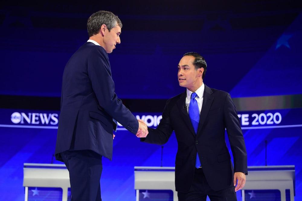 Second Tier in Top Form at Democratic Debate