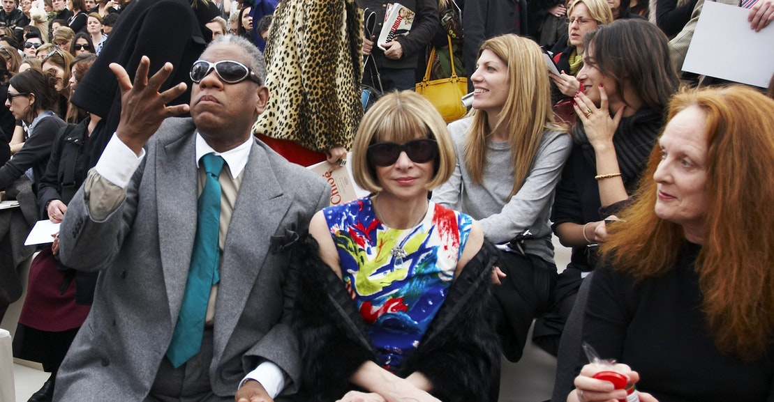 André Leon Talley Corrects the Record