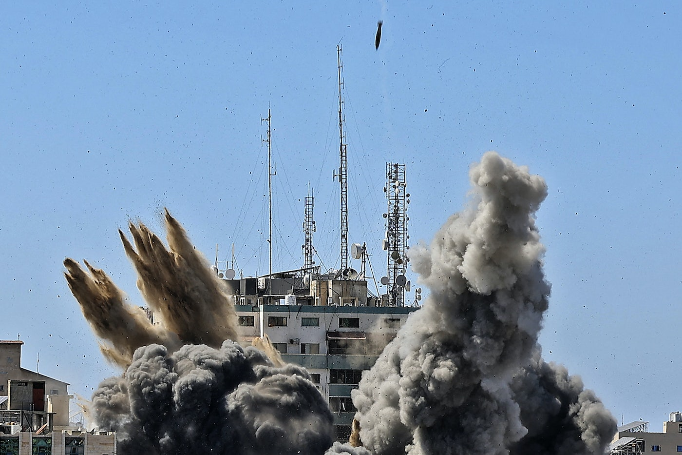 The AP and Al Jazeera Bombing Exposes Israel's Relationship to a Free Press  | The New Republic