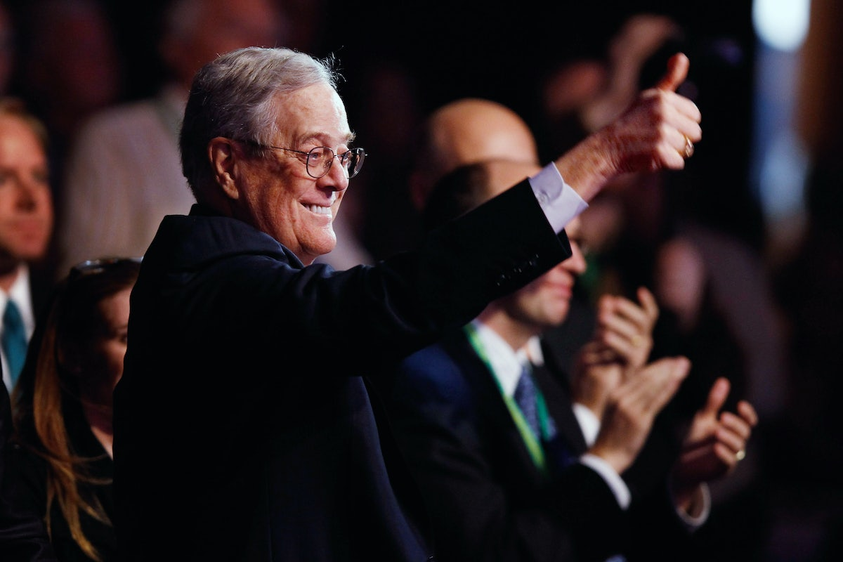 How David Koch Changed the World | The New Republic