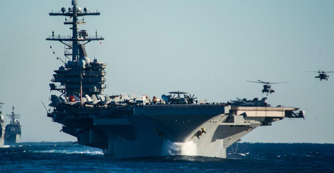 USS George H W Bush Aircraft Carrier in Iraq: Geoff Dyer's
