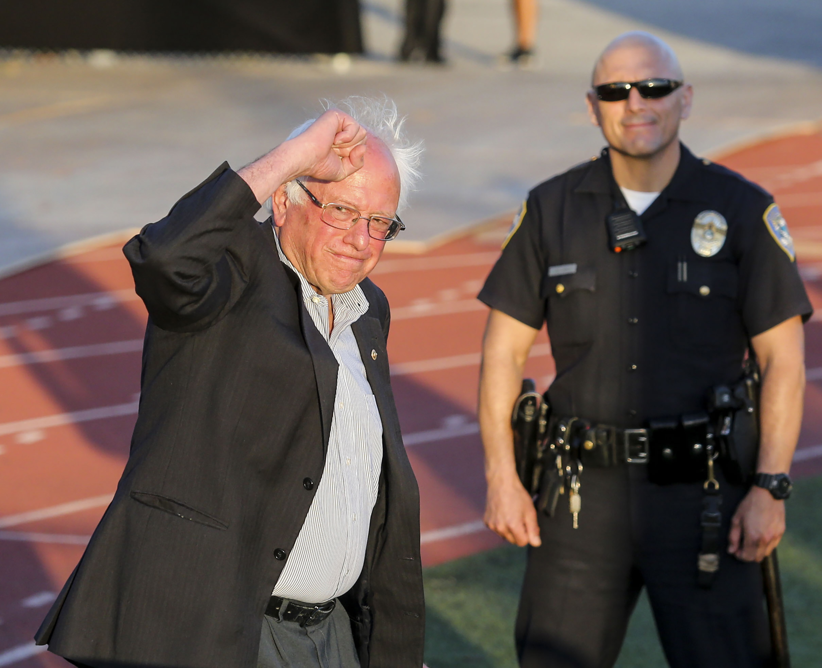 Bernie Might Be Helping, Not Hurting Hillary Right Now
