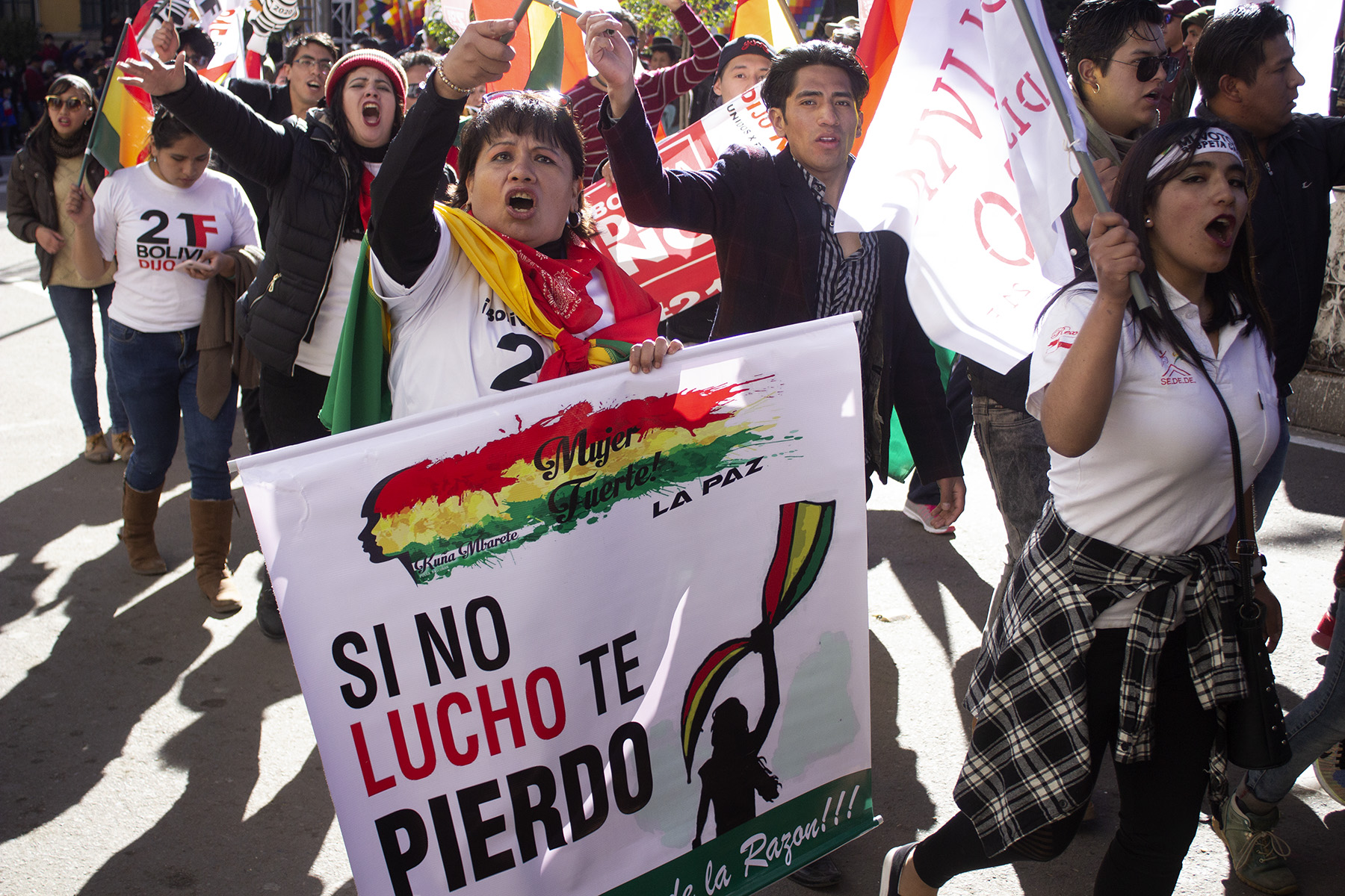 Fighting For Democracy A Lesson From Bolivia The New Republic
