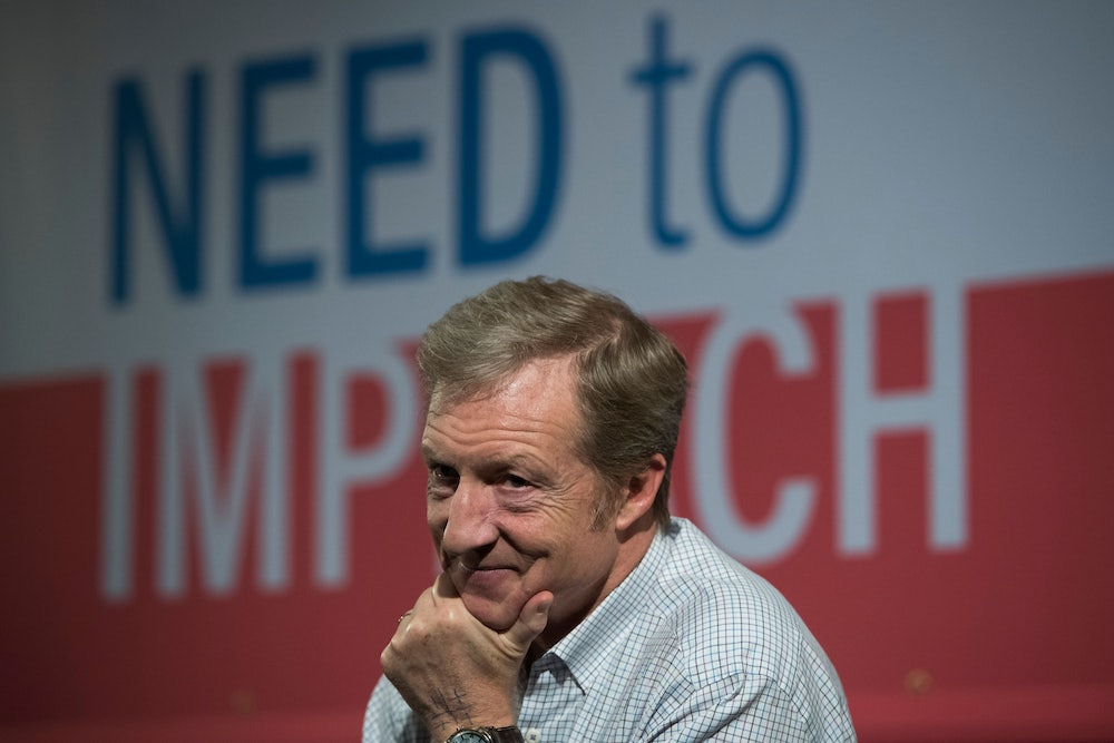 Tom Steyer's $100 Million Vanity Project