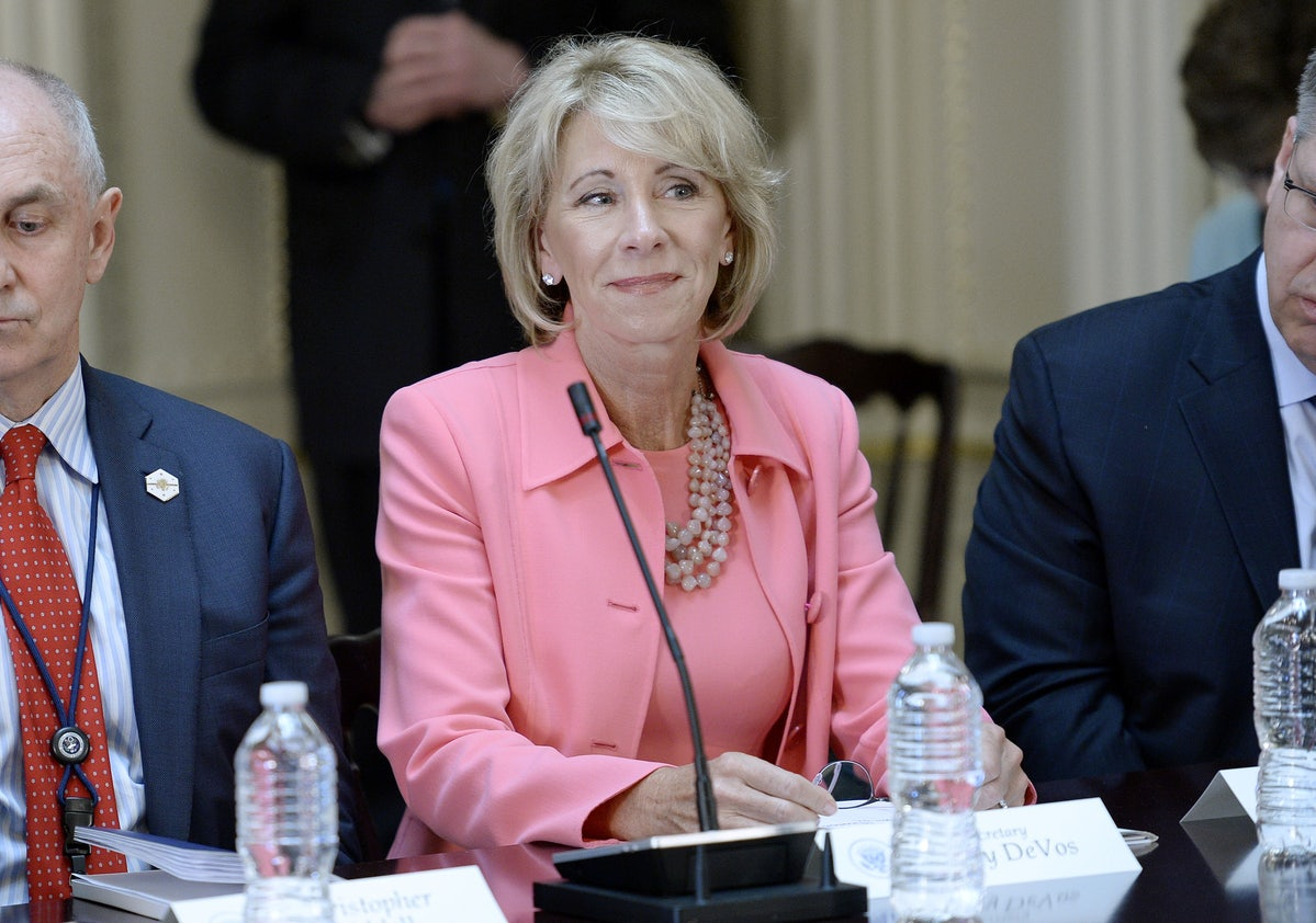 Betsy Devos Is Just Plain Wrong >> Education Policy Will Divide Democrats In 2018 Because Betsy Devos