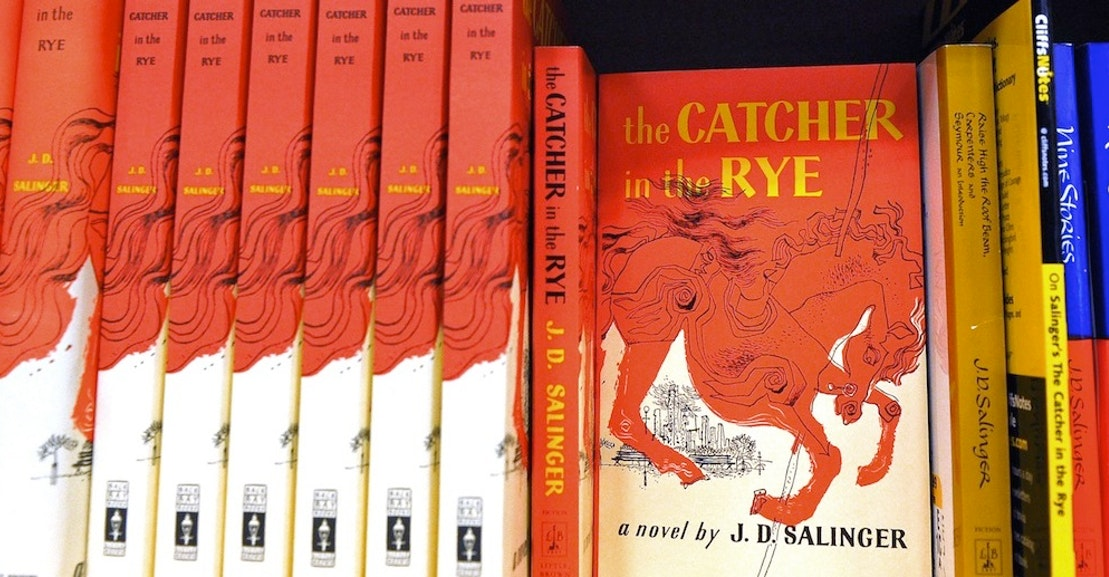 Pollution Essay In English Original Review Jd Salinger Catcher In The Rye Is Insufferable  The New  Republic English Argument Essay Topics also Narrative Essay Topics For High School Students Original Review Jd Salinger Catcher In The Rye Is Insufferable  The  Friendship Essay In English
