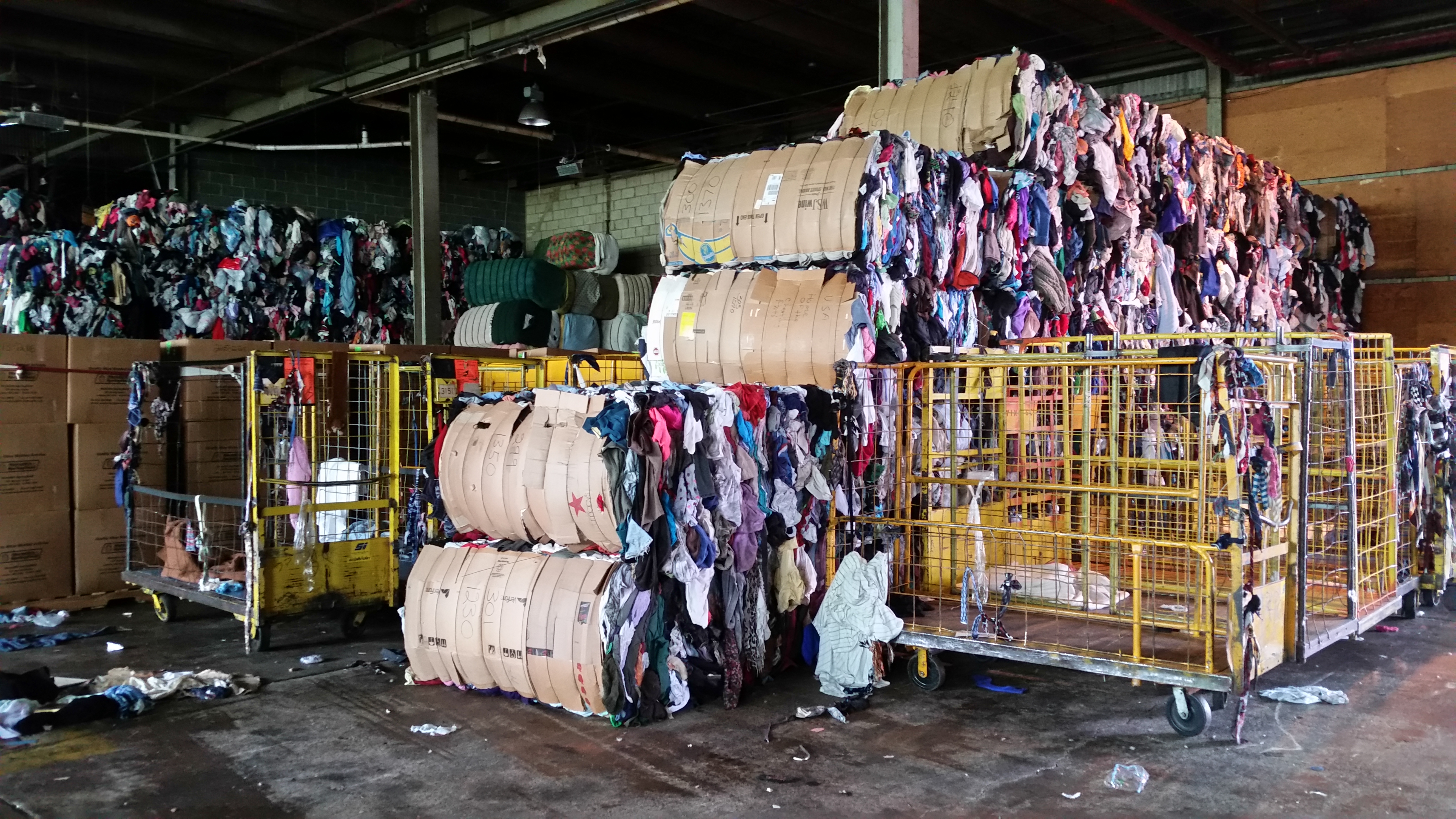 cea906679680 Inside the Massive Rag Yards That Wring Money Out of Your Old Clothes | The  New Republic