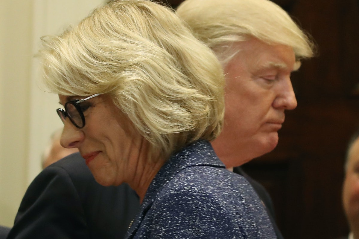 Choice Advocates Not Only Want More >> Betsy Devos Is Making School Choice Toxic For Democrats The New