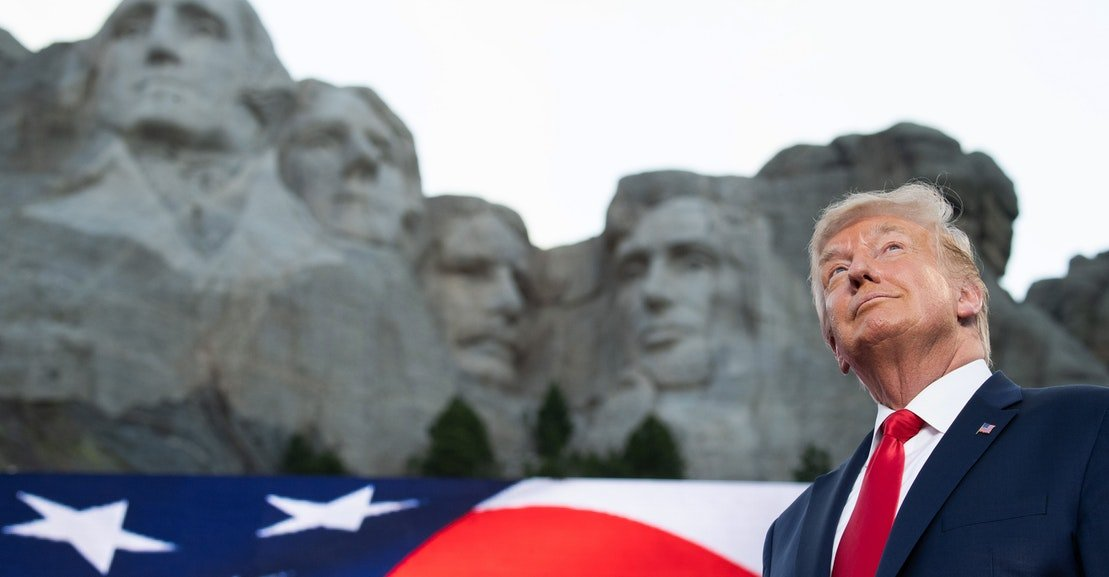 If Donald Trump Can't Make History, He'll Steal It Instead