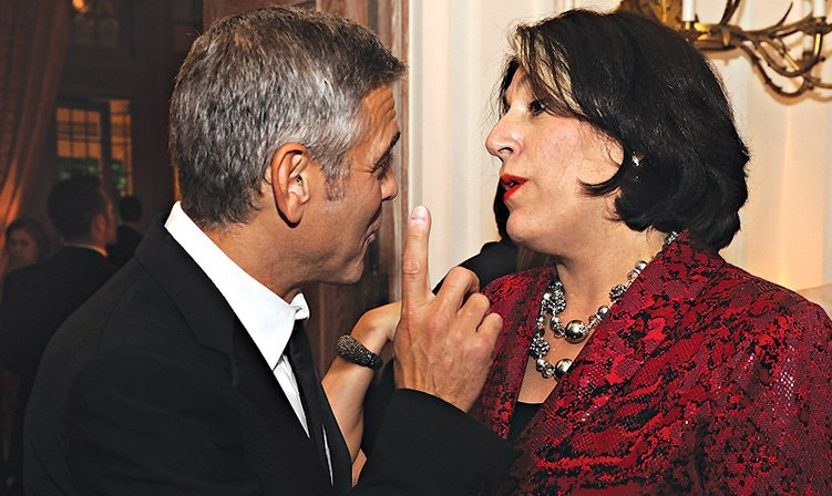 Tammy Haddad's Party Pics: With George Clooney.