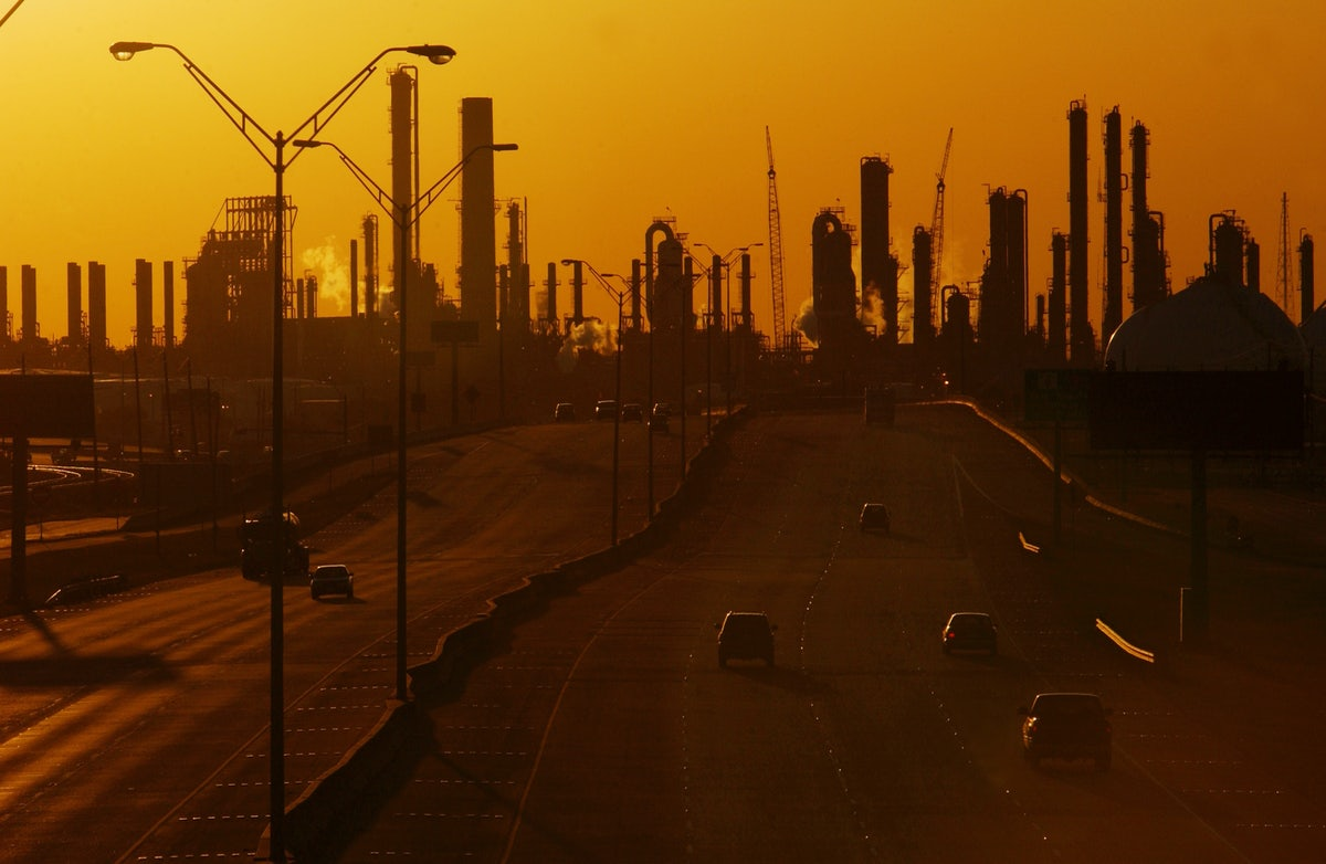 """Unbearable"""" petrochemical smells are reportedly drifting"""