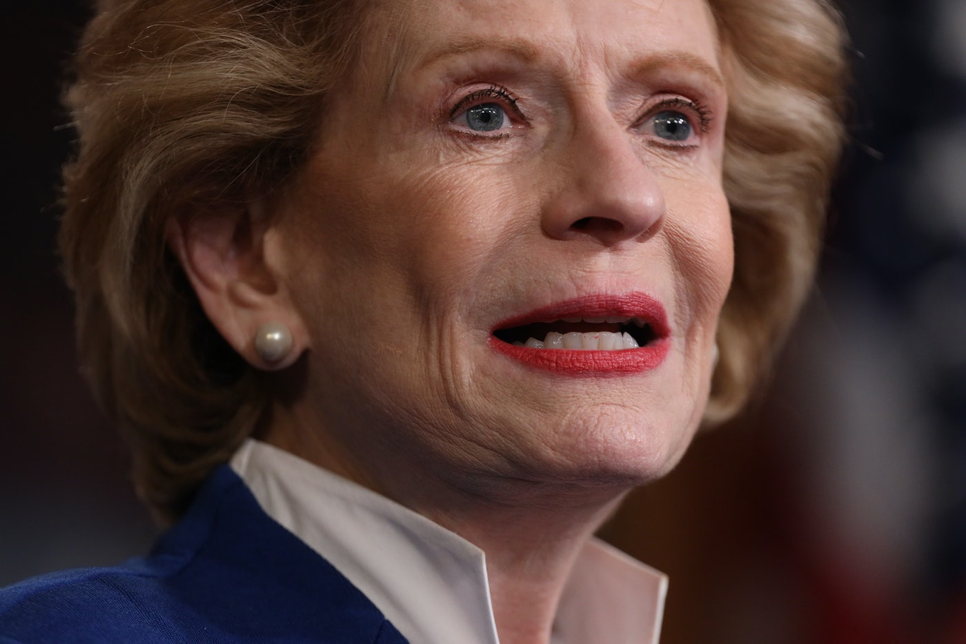 Senator Debbie Stabenow of Michigan speaks.