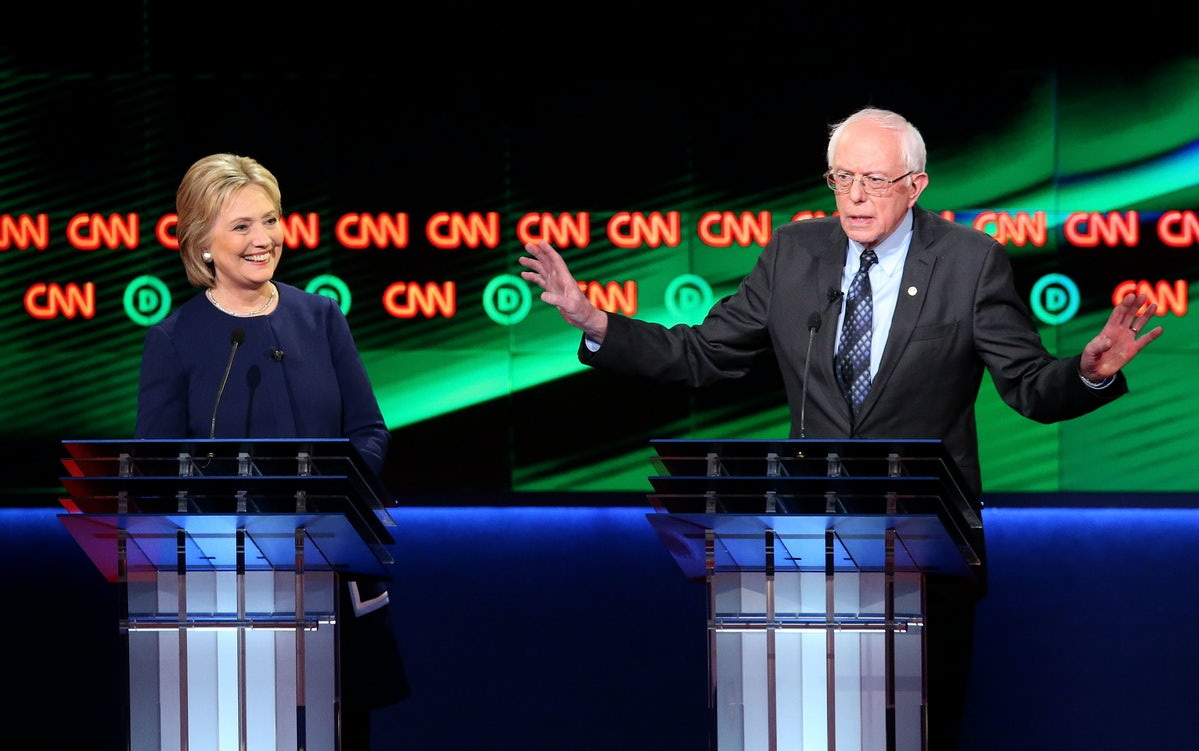 This is what it looks like when two adult presidential candidates debate  policy rather than penis size.