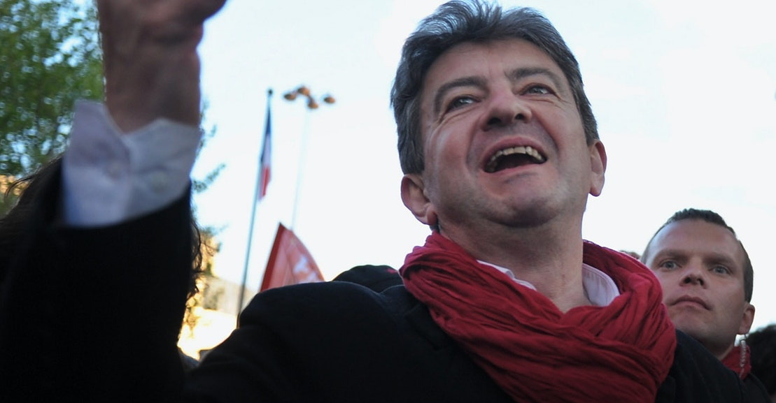 "photo image The Rise of Jean-Luc Mélenchon and France's ""Post-Democracy"""