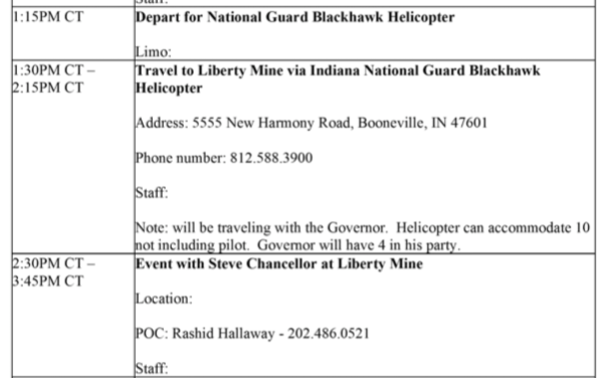 6f7b2399c1c Scott Pruitt Used a Military Helicopter to Visit a Coal Mine
