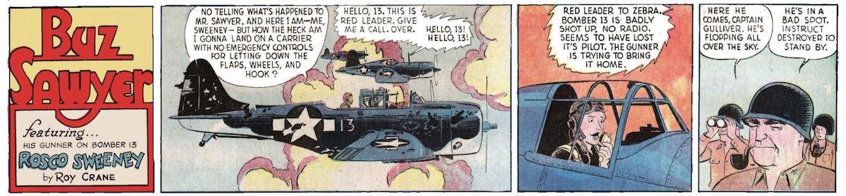 Pulp Propaganda: Roy Craneu0027s Buz Sawyer Cold War Comics   The New Republic