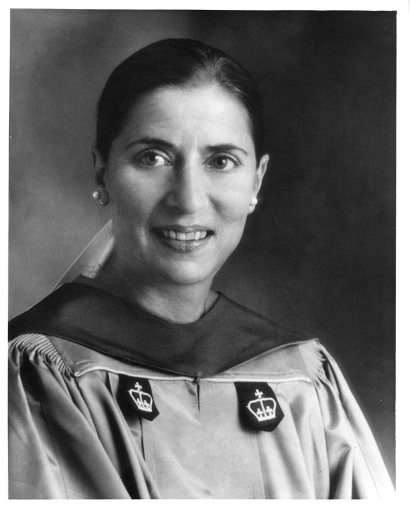 9baf27ed Justice Ginsburg as a professor at her alma mater, Columbia Law School, in  1980Courtesy of the Supreme Court of the United States