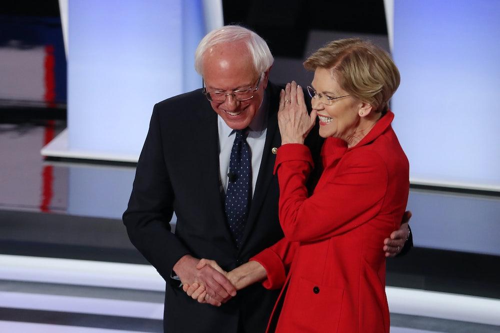 Sanders and Warren Plot Their End Run Around the Senate