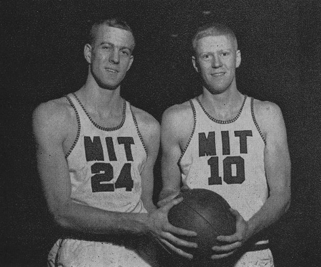 David and william koch as mit basketball players the new for David und charles koch