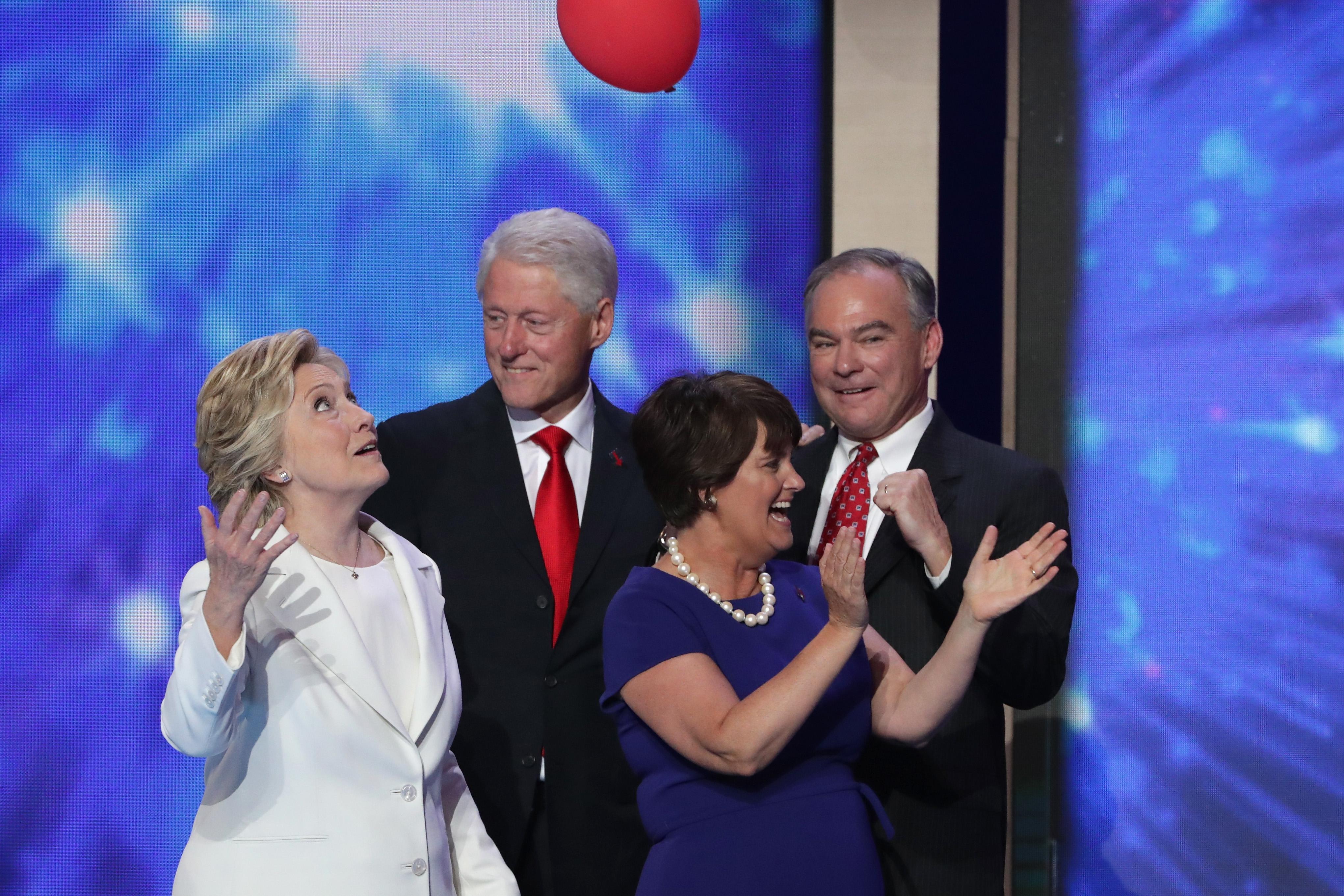 The Democratic Convention Was Senior Week