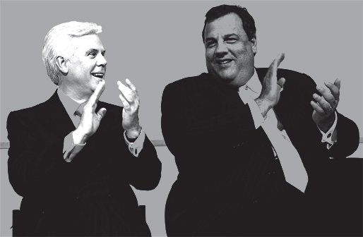 Chris Christie and George Norcross