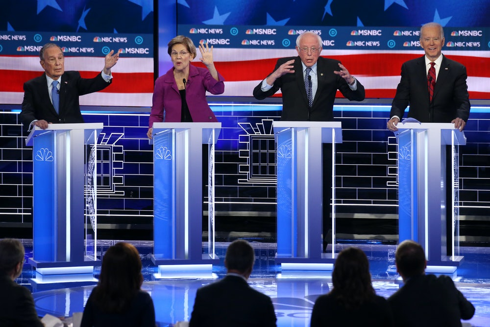 At the Democrats' Debate, the Knives Come Out at Last